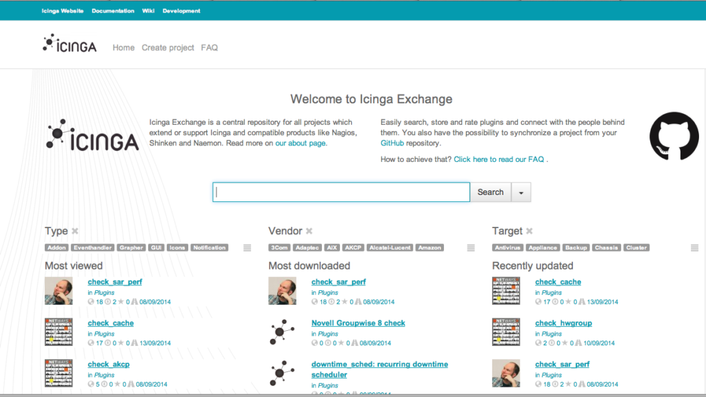 Icinga Exchange