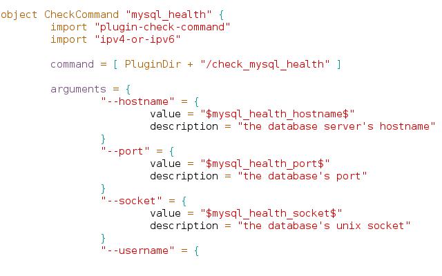 Icinga2 add host for Consul mysql health check
