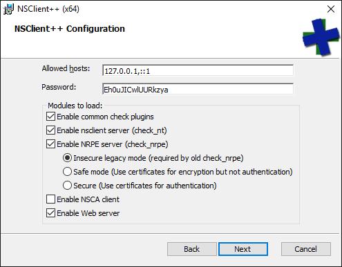 nsclient++ pour windows 8