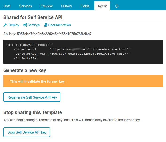 Self Service API