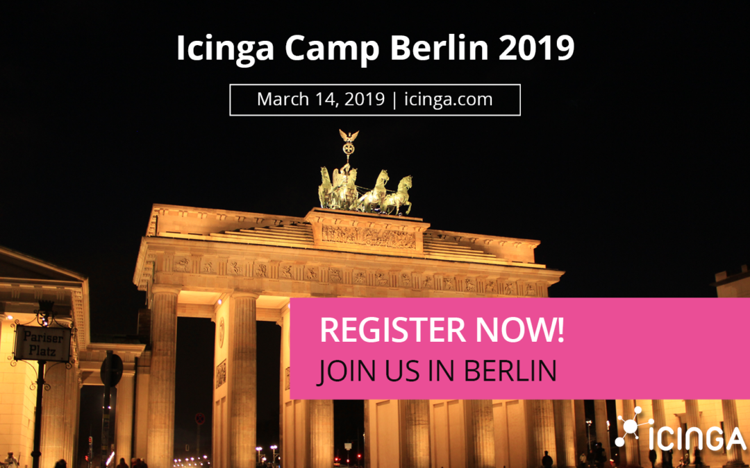 Announcing the Agenda for Icinga Camp Berlin 2019