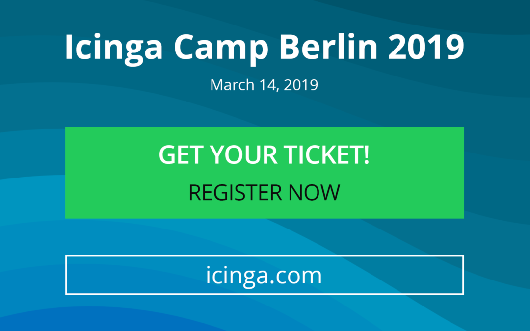 Icinga Camp Berlin is coming closer