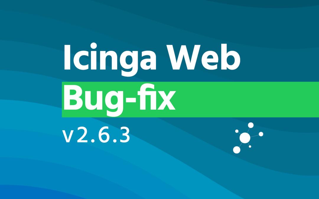 Icinga Web 2.6.3