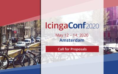 IcingaConf 2020: Call for Proposals