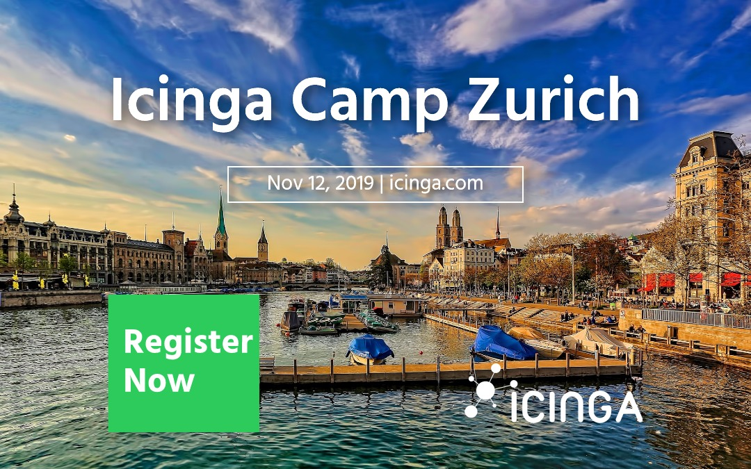 Join us for Icinga Camp Zurich