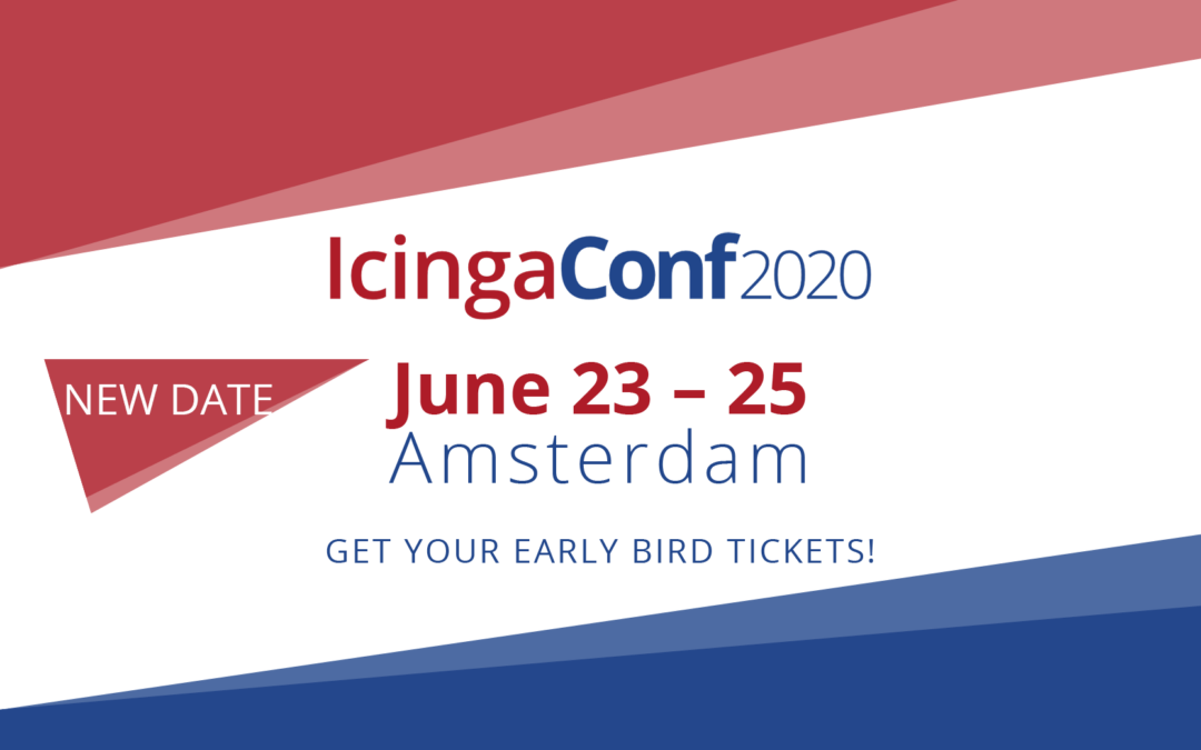 IcingaConf 2020 now in June