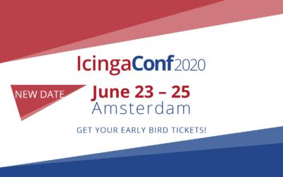 IcingaConf 2020 now in June