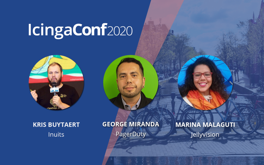 First IcingaConf speakers online