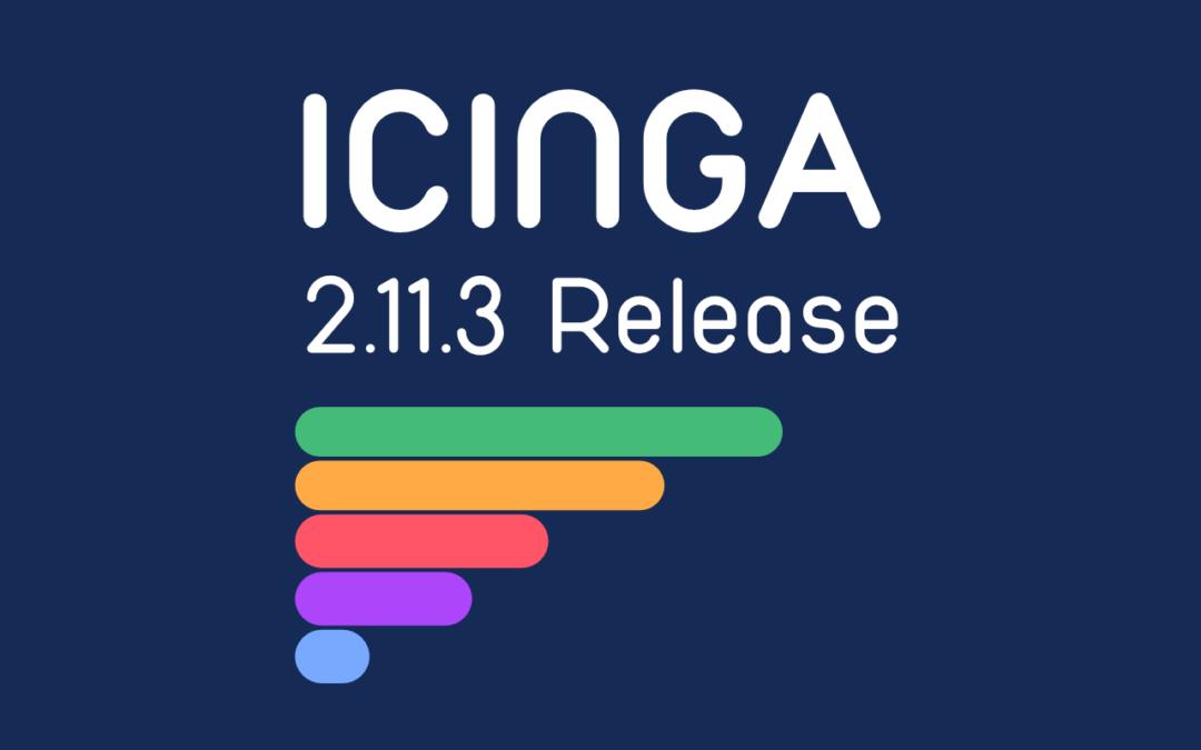 Icinga 2.11.3