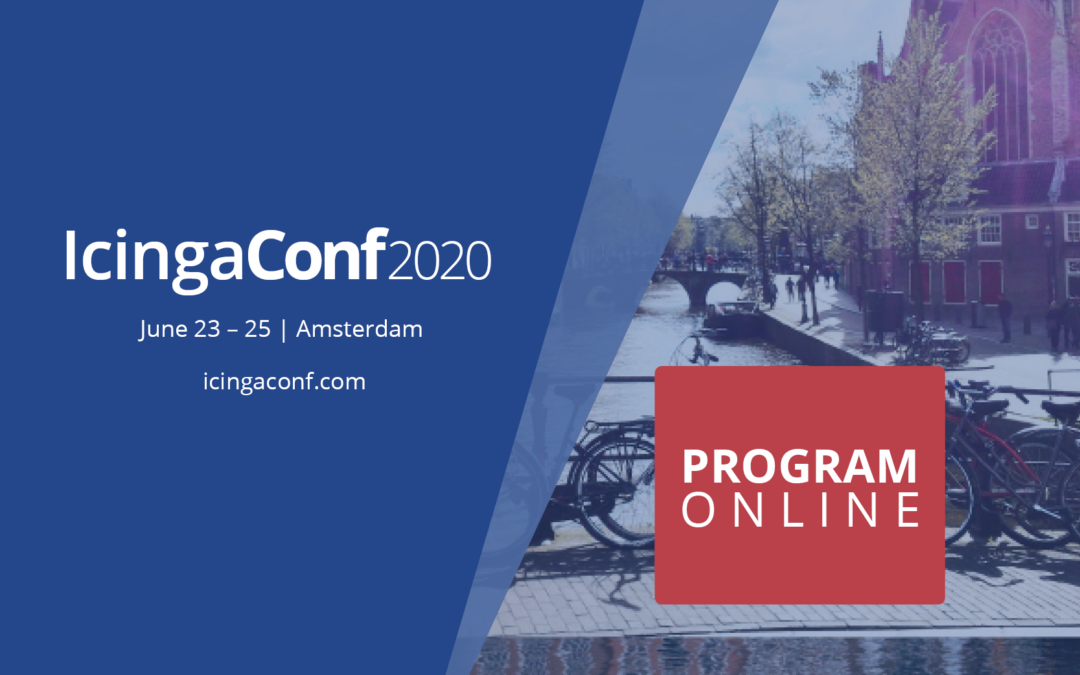 IcingaConf: Full schedule now online