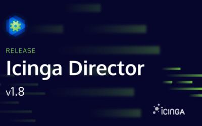 Releasing Icinga Director v1.8