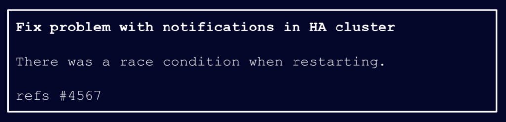 Image of commit message: Fix problem with notifications in HA cluster There was a race condition when restarting. refs #4567