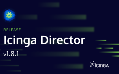 Releasing Icinga Director v1.8.1