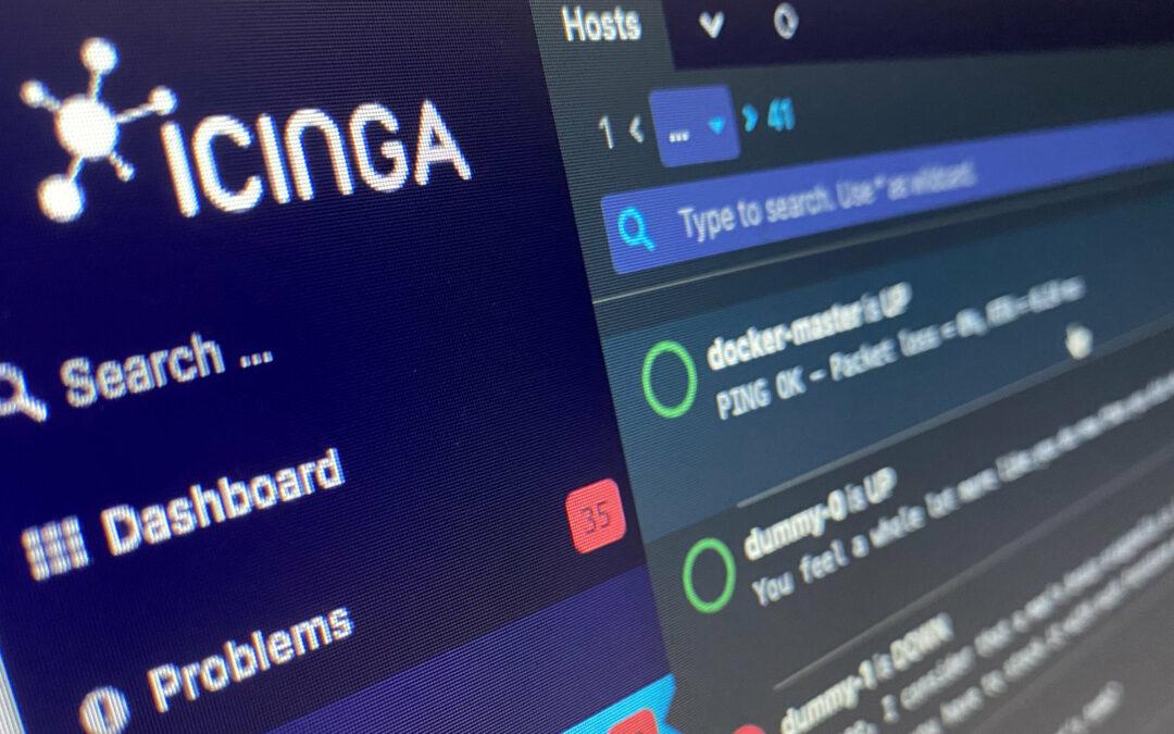 Polishing the Icinga DB Web User Interface